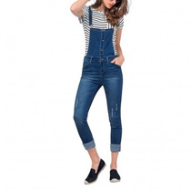 Jumper Overol Denim Skinny Jumpsuit Msi Tallas Extras