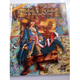 Libro Piratas Del Caribe Disney Tipo Donde Esta Wally Buscar