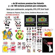 Vectores San Valentín Pareja 14 Febrero + 100vectorespremium