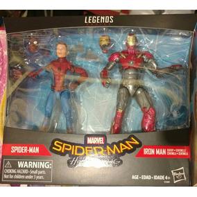 Paquete De 2 Figuras De El Hombre Araña De Vuelta A Casa