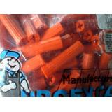 Ramplug Plástico Anaranjado Naranja 3/8 50 Unidades