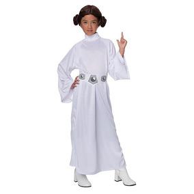 Disfraz Star Wars Princesa Leia Para Niña **envio Gratis