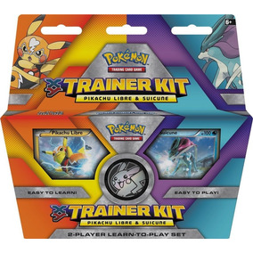 Trainer Kit Trading Card Game Pikachu Libre/suicune Pokemon