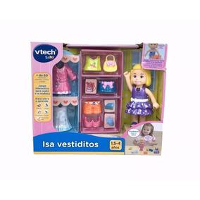 Juego Interactivo Vestir A La Muñeca - Isa Vestiditos Vtech