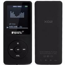Mp4 Player Ruizu 4gb X02 Mp3 Musica Vídeos Visor Multimídia