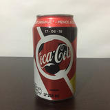 1 Lata Coca Cola Conmemorativa México 1 Alemania 0