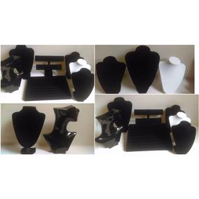 Kit Exhibidor De Joyeria Anillo Collar Pulcera Busto Cadena