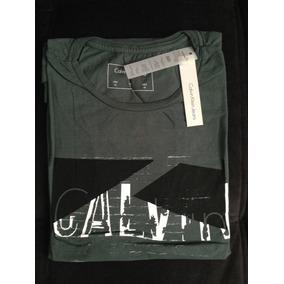 Camiseta Calvin Klein Masculino 100% Algodão