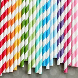 Pitillos De Papel Estilo Vintage - 45 Colores Para Elegir