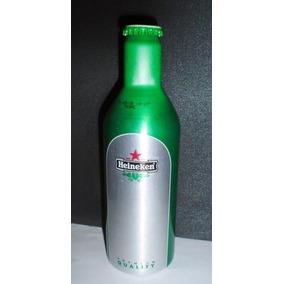 Botella Heineken Aluminio Impor. Coleccionable Llena Vencida