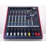 Mezclador De Audio De Bajo Costo Y Excelente Calidad /ch6usb