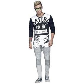 bedc0d309 Pantalon Blanco Hombre Juvenil - Ropa y Accesorios en Mercado Libre ...