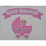 Cartel Para Babyshower O Bienvenida Goma Eva