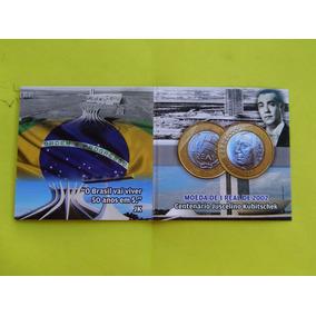 Blister / Cartela Para Moeda De 1 Real Comemorativa Jk 2002