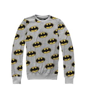 Batman Logo Pullover (sudadera) By Mascara De Latex Lzc