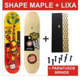 Shape Maple Com Lixa Emborrachada E Parafusos Brinde Frete G