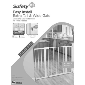 Puerta De Seguridad Easy Install Extra Tall & Wide Gate