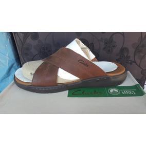 Zapato Clarks 100% Cuero Color Café N° 41, 43 Y 44.