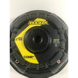 Subwoofer Kicker Bajo C12 12 Pulgadas 300 Watts 4 Ohm