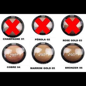 Po Iluminador Bronzeador Ruby Rose Cor 5 E 6 Disponiveis