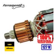 Induzido Rotor Lixadeira Parede Wbr 750 Original Novo 127v