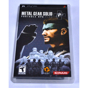 Metal Gear Solid Portable Ops Plus Para Psp ( Envío Gratis )
