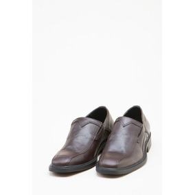 Zapato Cuero Marron Oxigeno Hombre