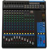 Yamaha Mg16 Consola Mixer Sonido 16 Canales Nueva