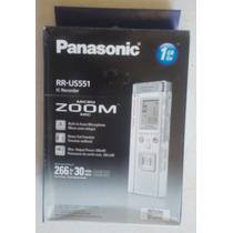 Gravador De Voz Panasonic Rr-us551 Novo Na Embalagem