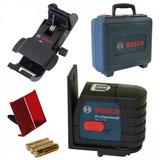 Nivel A Laser Linear Gll 2-15 Maleta E Suporte - Bosch