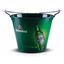 Balde De Gelo Heineken Em Alumínio Para Cerveja