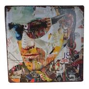 U2 Cuadro Decorativo De Metal - Arte Pop- Música- Decoración
