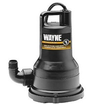 Wayne Vip50 1/2 Hp Termoplástico Bomba De Eliminación De Agu