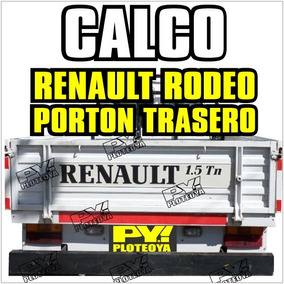 Calco Rodeo Renault Trafic Calco Porton Calcomania Ploteoya!
