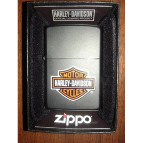 Encendedor Zippo Negro Harley Davidson Original + Combo