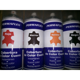 Pintura Restaurador Para Cuero En Spry Permaflex 300ml