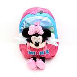 Mochila Minnie Mouse Disney Store Brillos Sobrerelieve en Mercado ... e640df7932d30