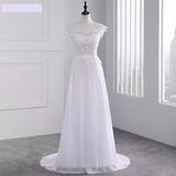 Vestido De Casamento Noiva Comprido Versatile Floral Rendado