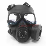 Máscara Airsoft Anti Gás Tmc Modelo M4 3cores Envio Imediato