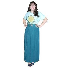 Saias Moda Evangélica Femininas Longas Plissadas 00210
