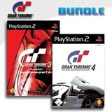 Gran Turismo 3+gran Turismo 4 Sony Playstation 2 (2 Discos)
