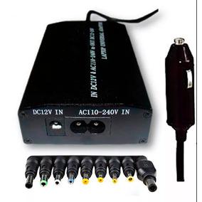 Fonte Universal Notebook Carregador Veicular 8 Adaptadores
