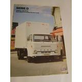 Catalogo De Ventas Camiones Ford D Series