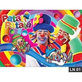 Patati Patatá Painel 3m² Lona Banner Aniversario Decoração