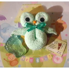 Búhos Figura Toalla Jabón Recuerdo Baby Bautizo Nacimiento X