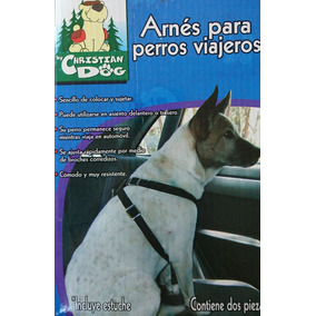 Arnés Para Perros Viajeros Talla Mediana