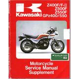 Manual Servicio Reparacion Kawasaki Gpz 400 550 Z550f Z400f