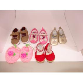5 Pares De Zapatos De Bebe De 3 A 12 Meses