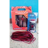 Combo De Kit De Audio Con Quita Ruido Y Cables Para Cornetas