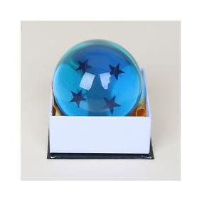 Esfera Del Dragon Escala Real 7.6 Cm Color Azul 4 Estrellas
